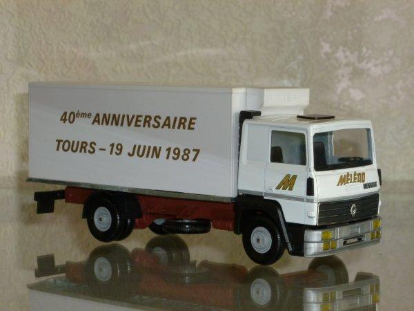 """Renault R340 Porteur Frigo """" Transports MELEDO TOURS 1987 """" Eligor LBS REF: 110604"""