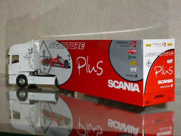 """Scania 164L 580cv Topline Semi """" Formule 3 Signature Plus """" Eligor LBS 1/43ème Ref:112567"""