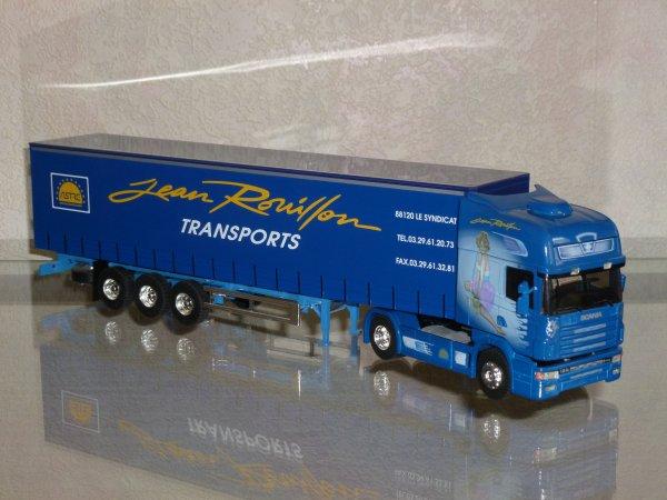 "Scania Serie 4 164L 480 V8 Topline Tautliner "" Transports Jean Rouillon 50ans "" Eligor LBS Ref: 113271"