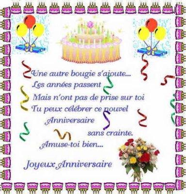 joyeux anniversaire ma cousine en anglais