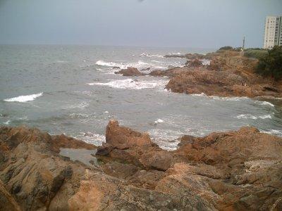 La mer.