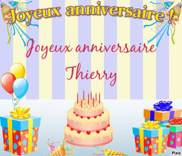 bon anniversaire thierry