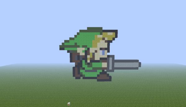 Premier pixel art:Links mode assaut