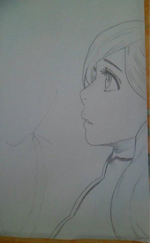 un dessin d'Orihime