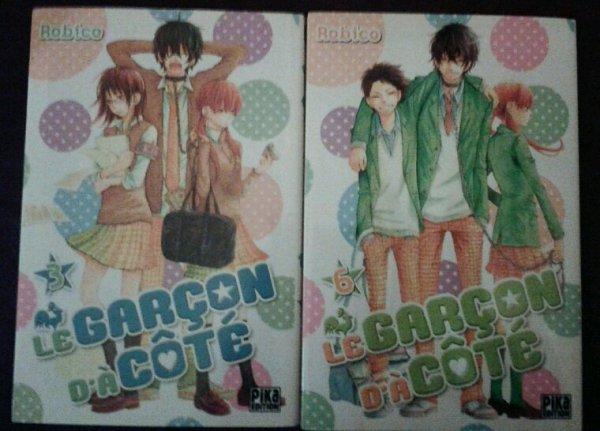 Petits achats tomes de manga (12/11/2016)