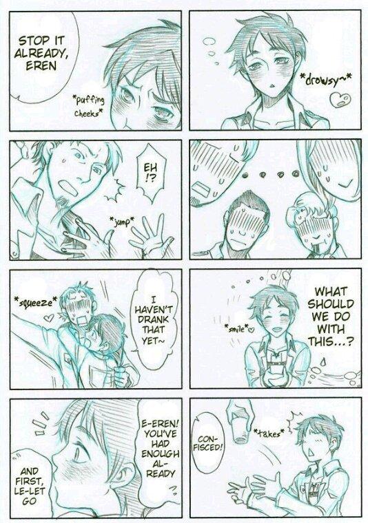 Eren est bien chelou...O.O