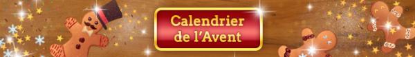 Le calendrier de l'Avent débute demain (30/11/2016)