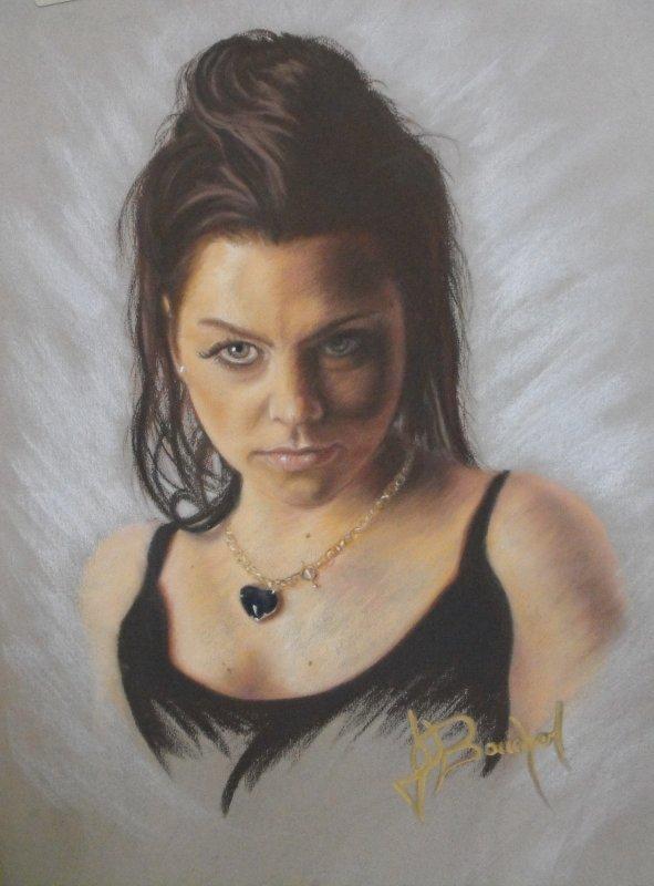 Portrait Pastel Sec - EMY LEE de Evanescence