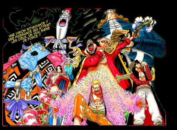 Les Sept Grand Shichibukaï.