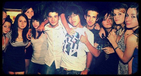 Les amis c'est cool.♥