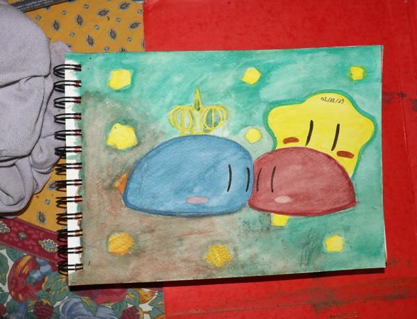 dessin d'aquarelle n°1