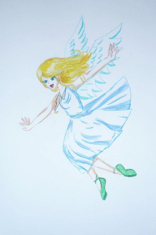 un ange est tombée du ciel