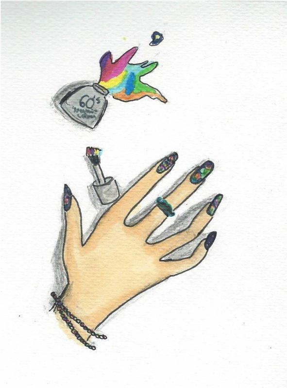 Des couleurs jusqu'au bout des doigts