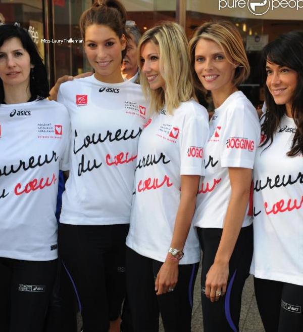 20/04/11. -> Le 19-20 mars, Laury au Marathon du Coeur.