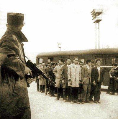 Massacre des Algériens le 17 octobre 1961 à Paris