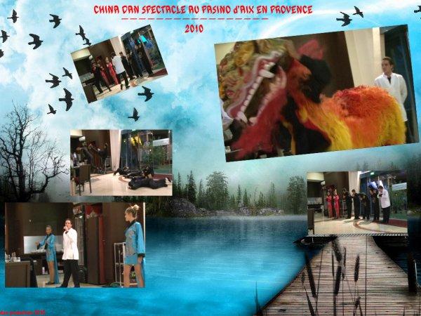 spectacle CHINADAN au µPASINO D'AIX