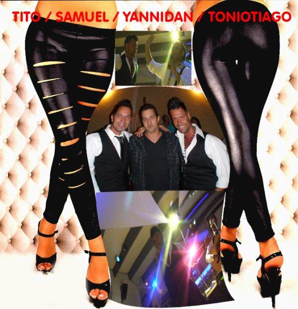 soirée tito et samuel avec yannidan et toniotiago
