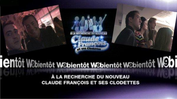 """YANNIDAN SUR W9 """" a la recherche du nouveaux claude francois 2012"""