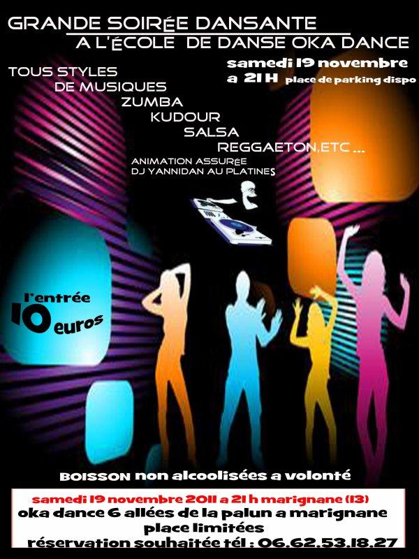 le samedi 21 novembre 2011 a Marignane soirée fiesta DJ yannidan au platine