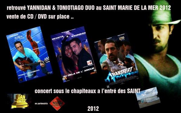 yannidan & toniotiago au saint en duos 2012