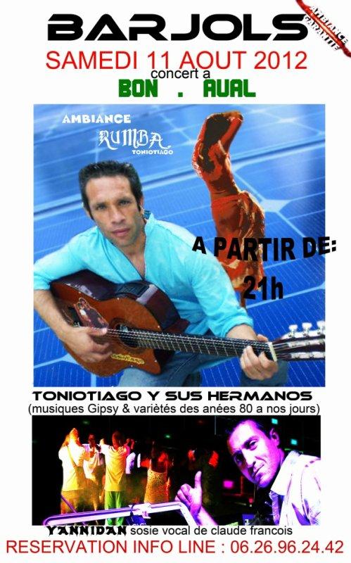 concert yannidan & toniotiago le 11 aout 2012