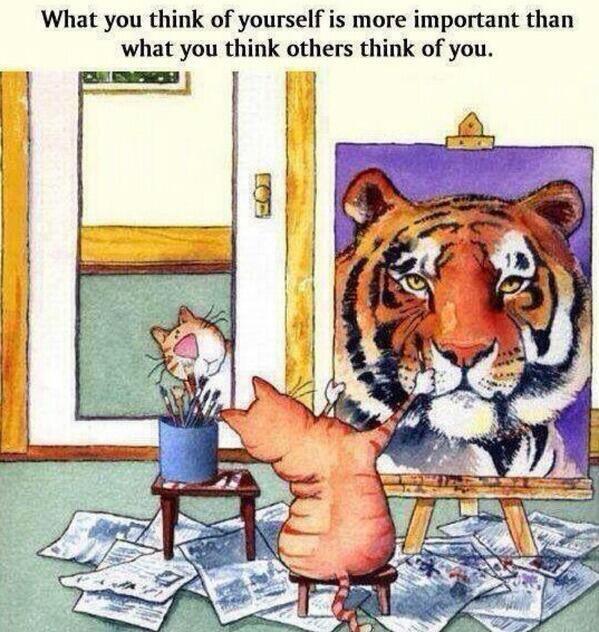 La confiance en soi !