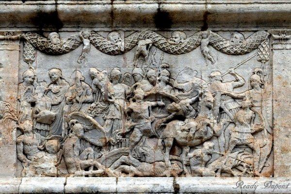 Saint Rémy de Provence, les antiques de Glanum