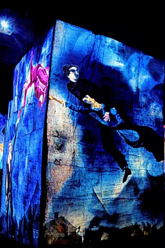 Les carrières de lumière, Chagall