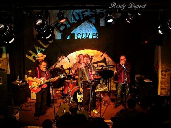 Mingo Balaguer et le Jack Mono Blues, hier soir à Pélussin