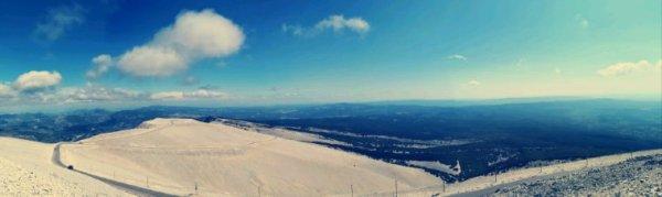 Vue du mont Ventoux.