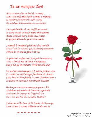 Ce Poeme Je Le Trouve Beau Slt Bi1venu Ds Mon Blog Biz A