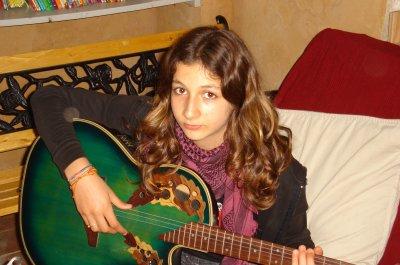 Ma Titine et sa guitare