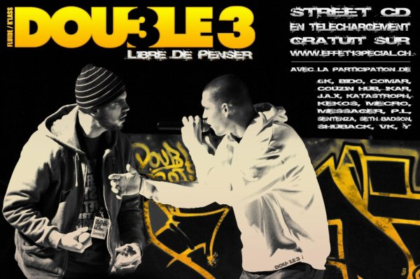 Street CD Double 3 GRATUIT !