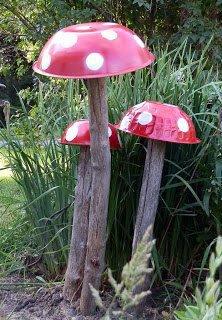 droles de champignons