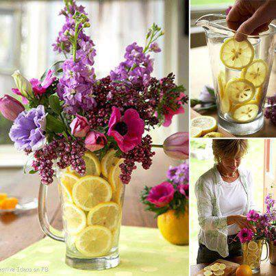 vase citron