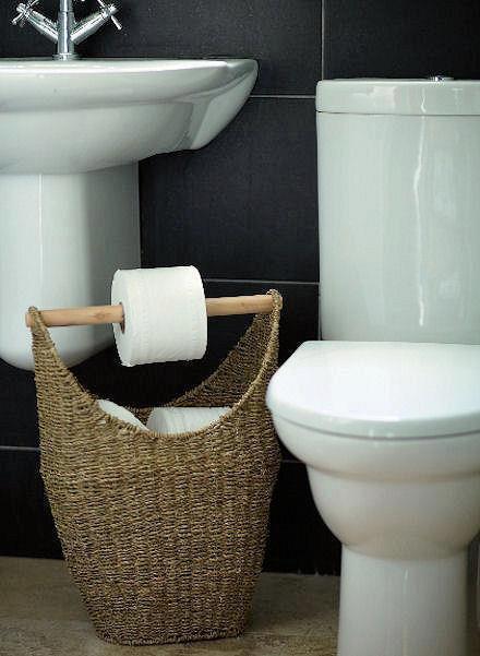 panier derouleur de papier wc
