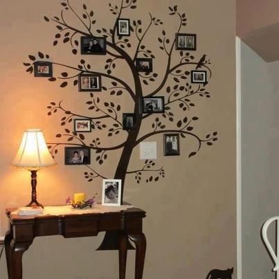 peinture arbre de famille