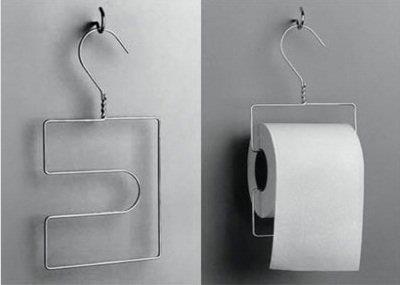 cintre derouleur de papier wc