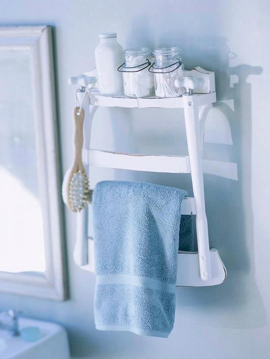 chaise deco salle de bain
