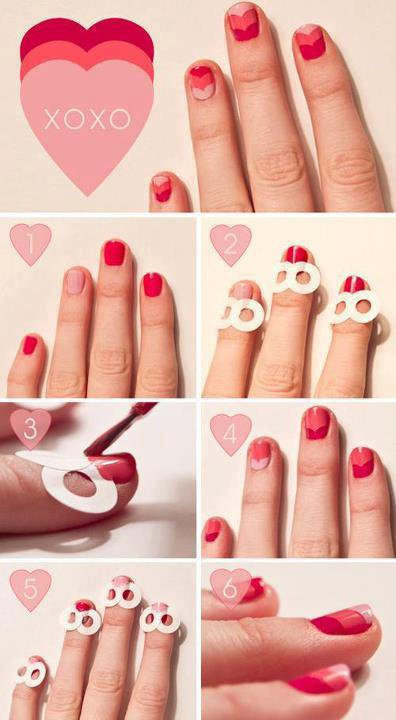 deco ongles 3 couleurs