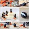 pour accompagner votre plateau de fromage olive noire pingouin carottes