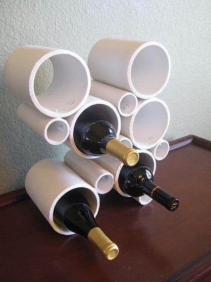 tuyaux range bouteilles