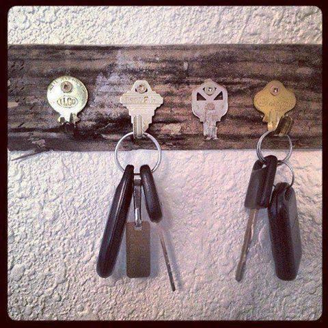 porte clefs clefs