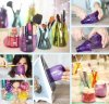 rangement en bouteilles plastiques pour maquillage