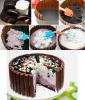 fabrication du gateau kinder et smarties pour anniversaire