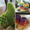 petits chaussons rigolos pour enfants ou bébés