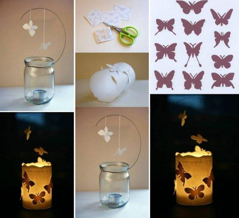 photophore papillons de nuit