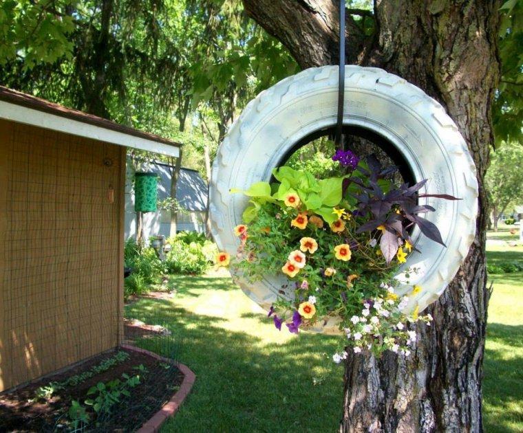 pneu jardiniere