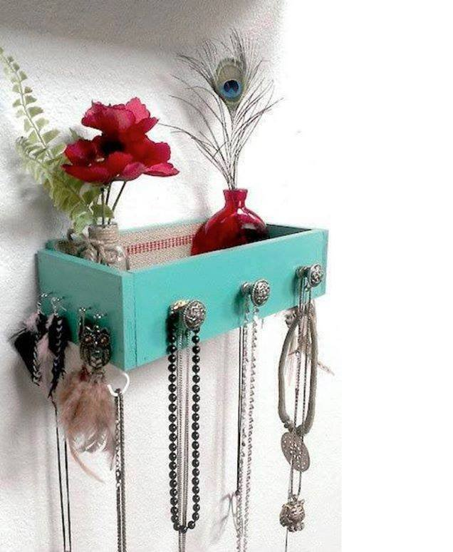 astuce tiroir et porte bijoux