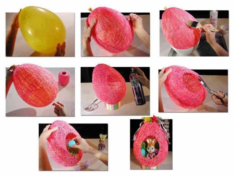 Ballon en fil de laine
